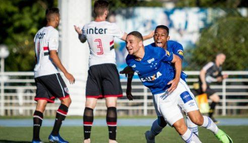 Cruzeiro faz 3 a 1 no São Paulo e embola Grupo B da Copa Ipiranga Sub-20