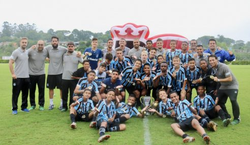 Grêmio conquista BG Prime Sul-Brasileiro na categoria sub-13