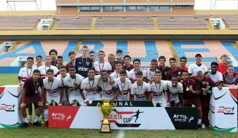 São Paulo é bicampeão da Paulista Cup Sub-16