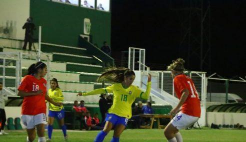 Brasil bate Chile e mantém 100% no Sul-Americano Feminino Sub-20