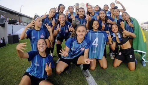 Nos pênaltis, Centro Olímpico é bicampeão da Libertadores Feminina Sub-14