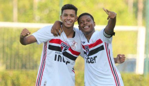 São Paulo vence Fluminense em jogo de sete gols pelo Brasileirão Sub-17