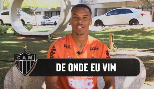 Conheça Guilherme, atacante sub-20 do Galo