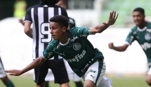 Brasileiro Sub-17 | Palmeiras 5 x 0 Botafogo | Gols da Partida