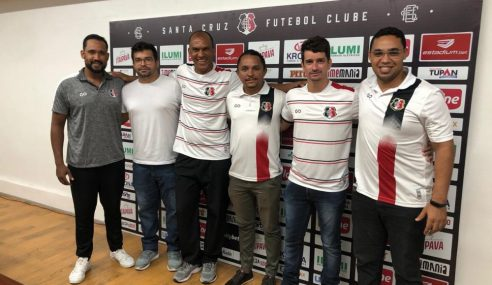 Novo treinador do sub-17 do Santa Cruz tem passagem por vários clubes de PE