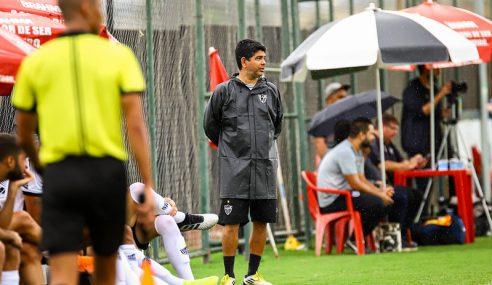 Marcos Valadares detalha estilo de jogo do sub-20 do Atlético-MG