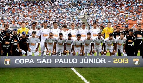 #TBT: Meia-atacante relembra geração do Santos bicampeã da Copa São Paulo