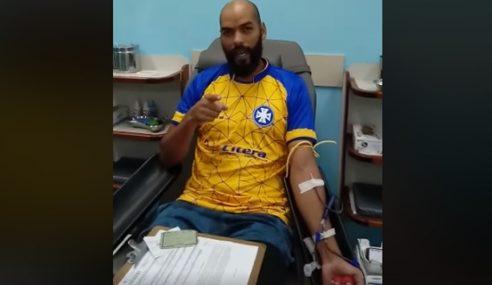 Treinador do sub-20 do Barra Mansa realiza doação de sangue