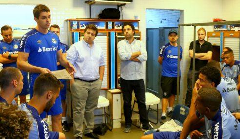Grêmio planeja utilizar mais vezes time sub-23 em competições profissionais de 2020