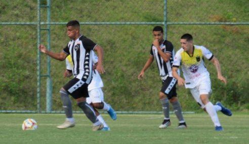 Botafogo cede empate ao Volta Redonda, pela primeira rodada do Carioca Sub-20
