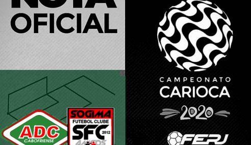 Cabofriense faz parceria para a disputa do Carioca Sub-15 e também Sub-17