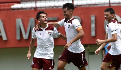 Fluminense vence America, de virada, na rodada inaugural do Carioca Sub-20