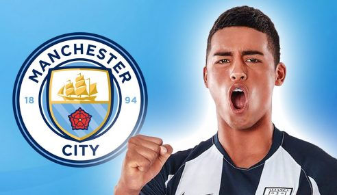 Manchester City-ING contrata promessa peruana de 16 anos