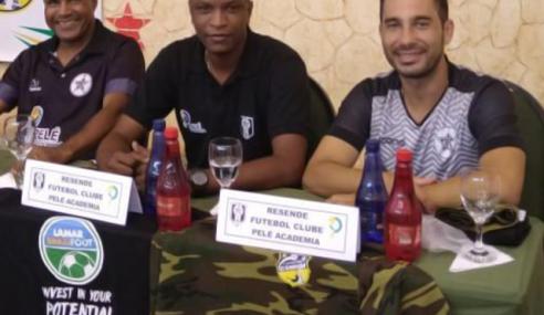 Conheça o projeto do Resende FC, criado pelo técnico Ricardo Pagani