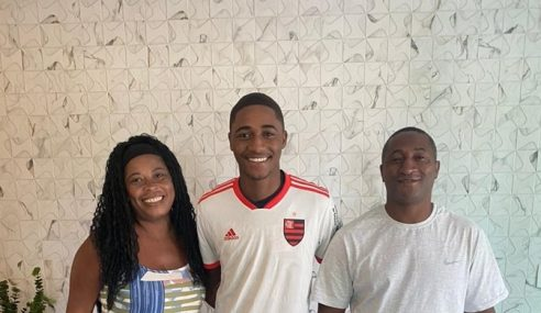 Flamengo contrata atacante sub-17 do Volta Redonda