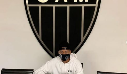 Atlético-MG assina primeiro contrato profissional com meia e atacante