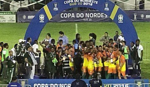 #TBT: Técnico destaca superação no título do Coruripe na Copa do Nordeste sub-20 de 2016