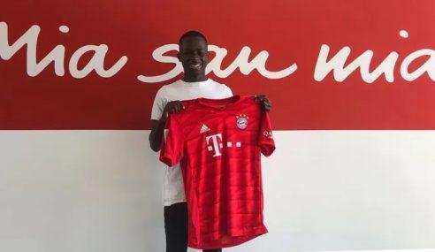 Bayern de Munique anuncia a contratação de Mamin Sanyang