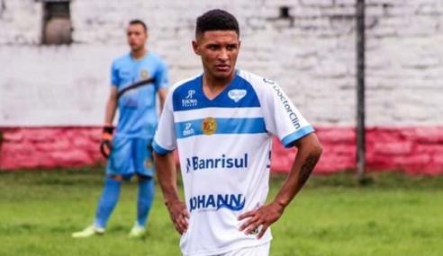 Novo Hamburgo apresenta Giancarlo, atacante do Bahia