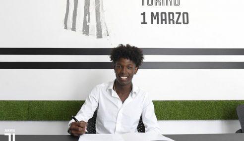 Juventus anuncia chegada do atacante português Félix Correia