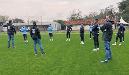 Grêmio retoma treinos da equipe de transição
