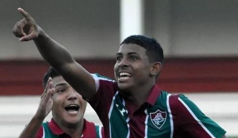 Fluminense renova com promessa de 18 anos e estipula multa milionária