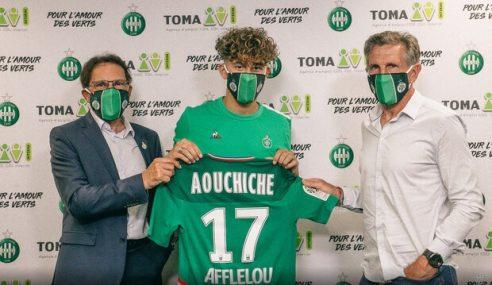 Atacante Adil Aouchiche troca o Paris Saint-Germain-FRA pelo Saint-Étienne-FRA