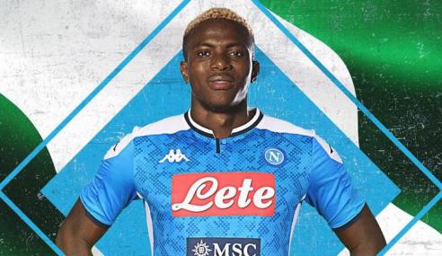 Napoli-ITA paga uma fortuna por Victor Osimhen, de 21 anos