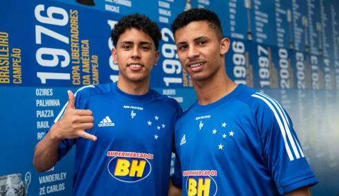 Cruzeiro promove lateral e atacante  ao time profissional