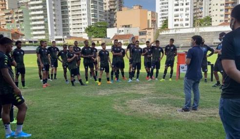 Botafogo retoma treinos das equipes sub-17 e sub-20