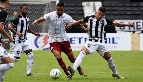 Fluminense sub-23 e Botafogo sub-20 empatam em novo amistoso