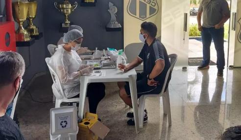 Ceará retoma treinos do time sub-20