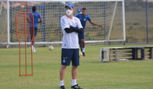 Bahia anuncia Eduardo Guadagnucci como novo técnico do sub-20
