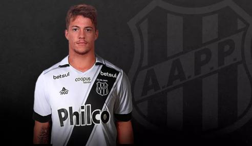 Ponte Preta confirma a contratação do atacante Guilherme Pato