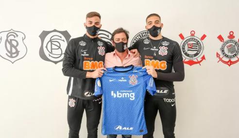 Corinthians renova contrato com dois goleiros