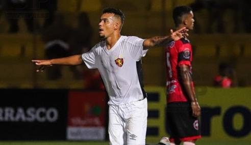 Atlético-MG fecha com três jovens da base do Sport Recife