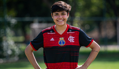 Flamengo promove capitã do time sub-18 ao elenco principal