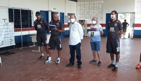 Sub-20 do Maranhão Atlético volta aos treinos