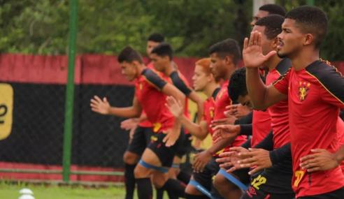 Sport Recife realiza exames de COVID-19 e prepara volta do sub-20