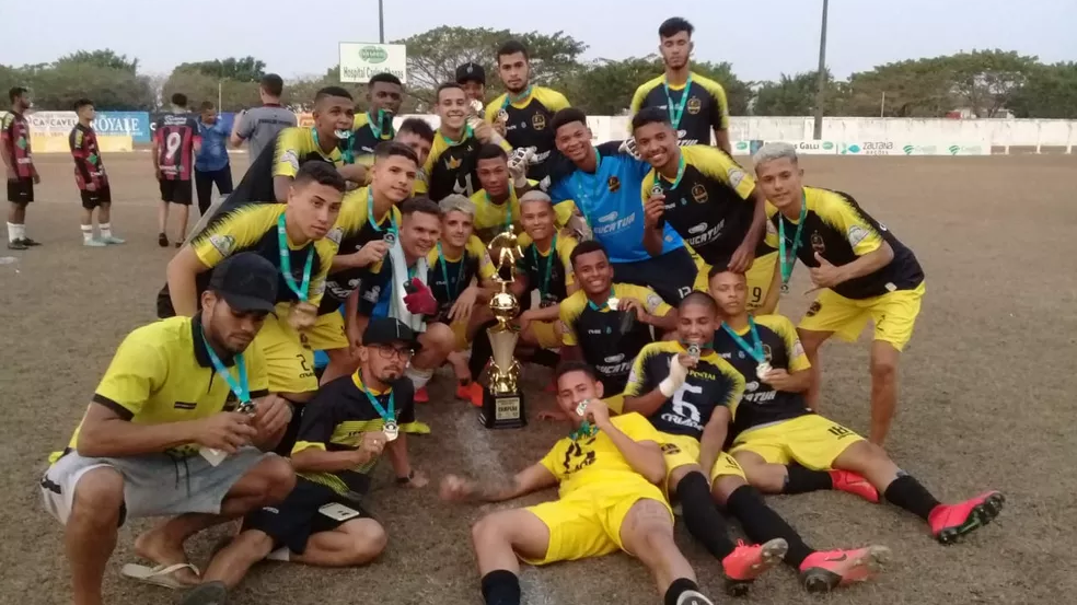 Vilhenense-RO confirma participação na Copa do Brasil sub-20