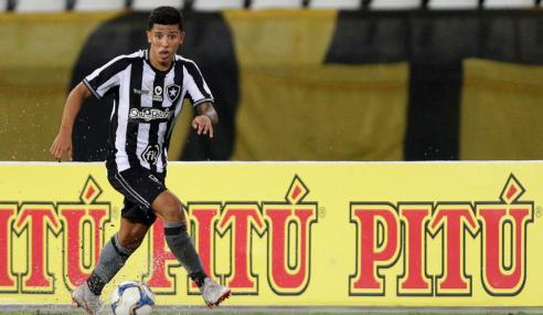 Botafogo libera Wenderson para negociar com clube português