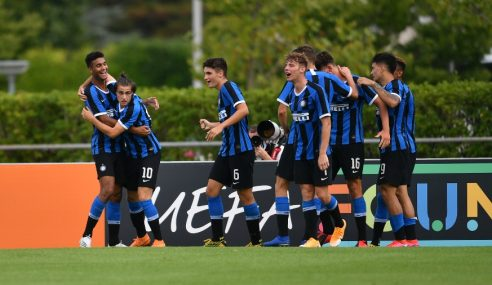 Gol solitário põe Internazionale nas quartas da Uefa Youth League