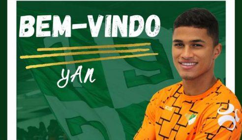 Palmeiras oficializa empréstimo de Yan para o Moreirense-POR