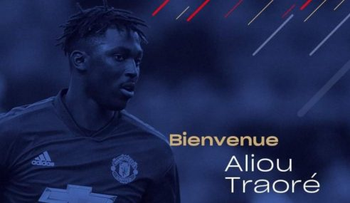 Manchester United-ING empresta jovem Aliou Traoré ao Caen-FRA