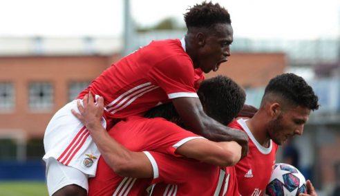 Benfica-POR elimina Dinamo Zagreb-CRO e é semifinalista da Uefa Youth League