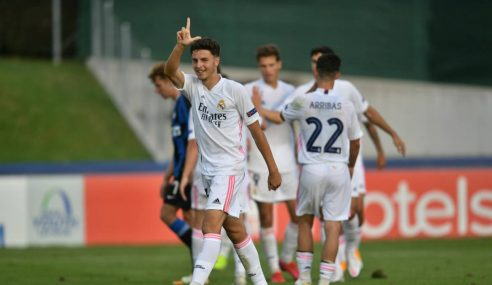 Real Madrid-ESP goleia Internazionale-ITA e está nas semifinais da Uefa Youth League