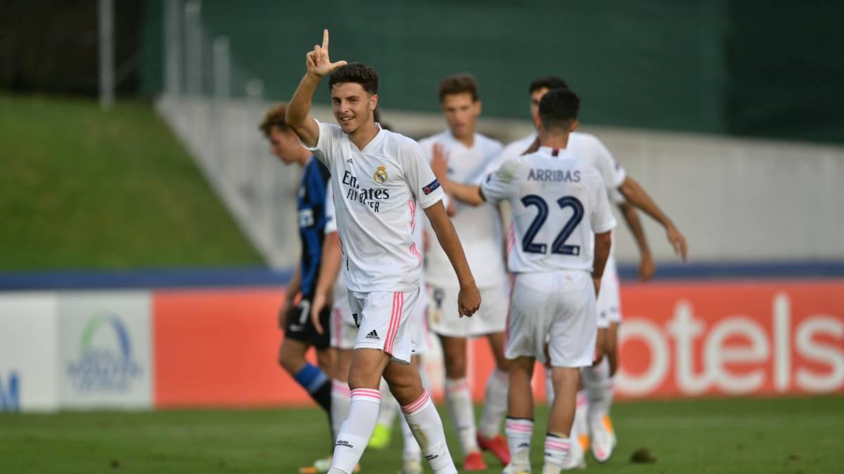Real Madrid-ESP goleia Internazionale-ITA e está nas semifinais da Uefa Youth League