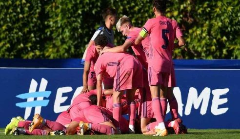 Real Madrid-ESP derrota RB Salzburg-AUT e está na final da Uefa Youth League