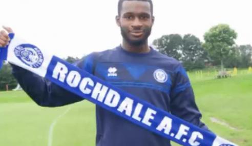 Yeboah Amankwah, do Manchester City-ING, é emprestado ao Rochdale-ING