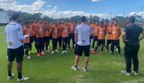 Atlético-MG retoma treinos da equipe sub-17
